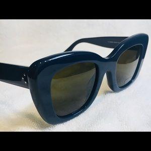 199b695ca8e5 Celine Accessories - Celine 41439 F S EZD Sunglasses EC Blue Asian Fit